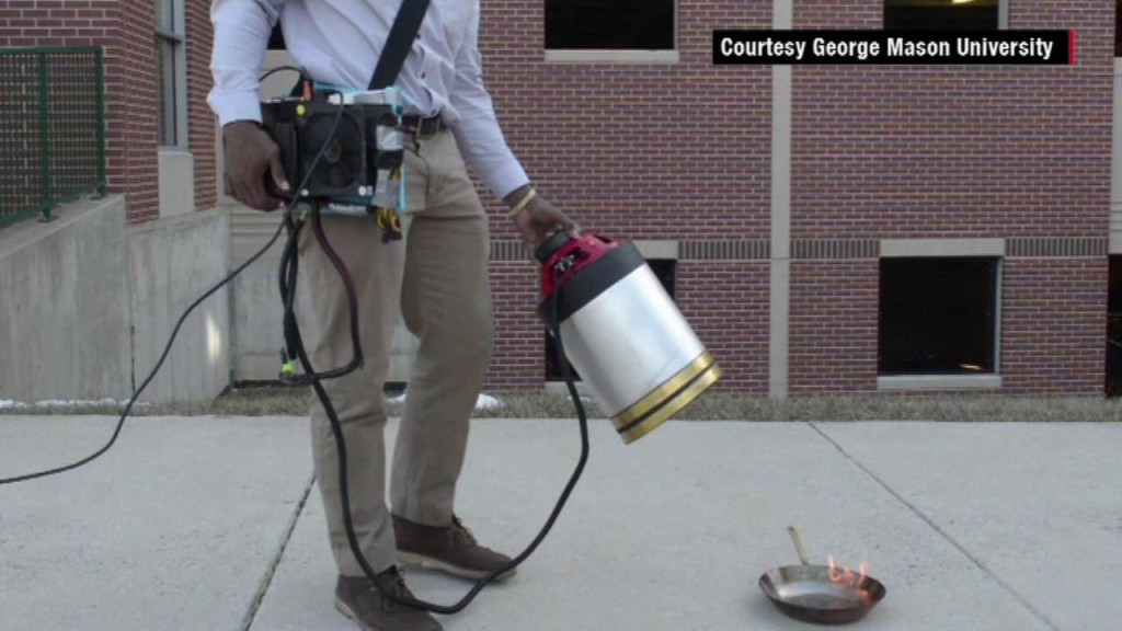 Fire Extinguisher Using Sound Waves