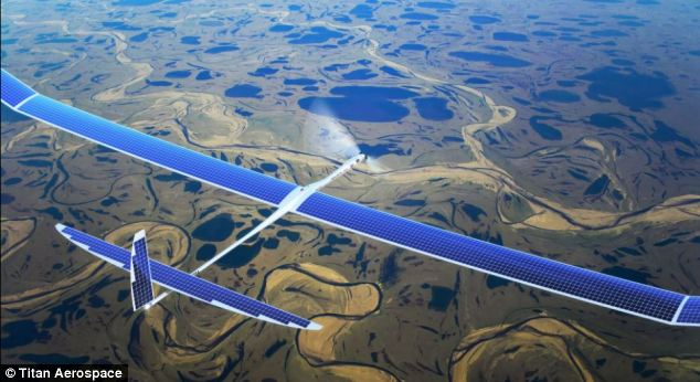 Solar-Powered Internet Drone