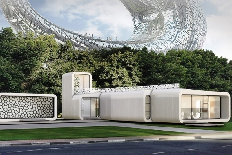3D Printed Office Building _1