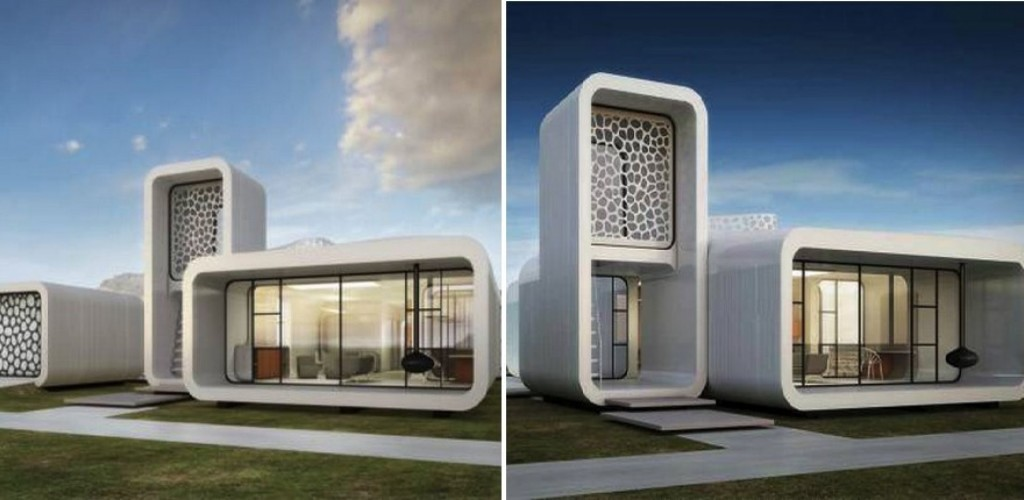 3D Printed Office Building_3