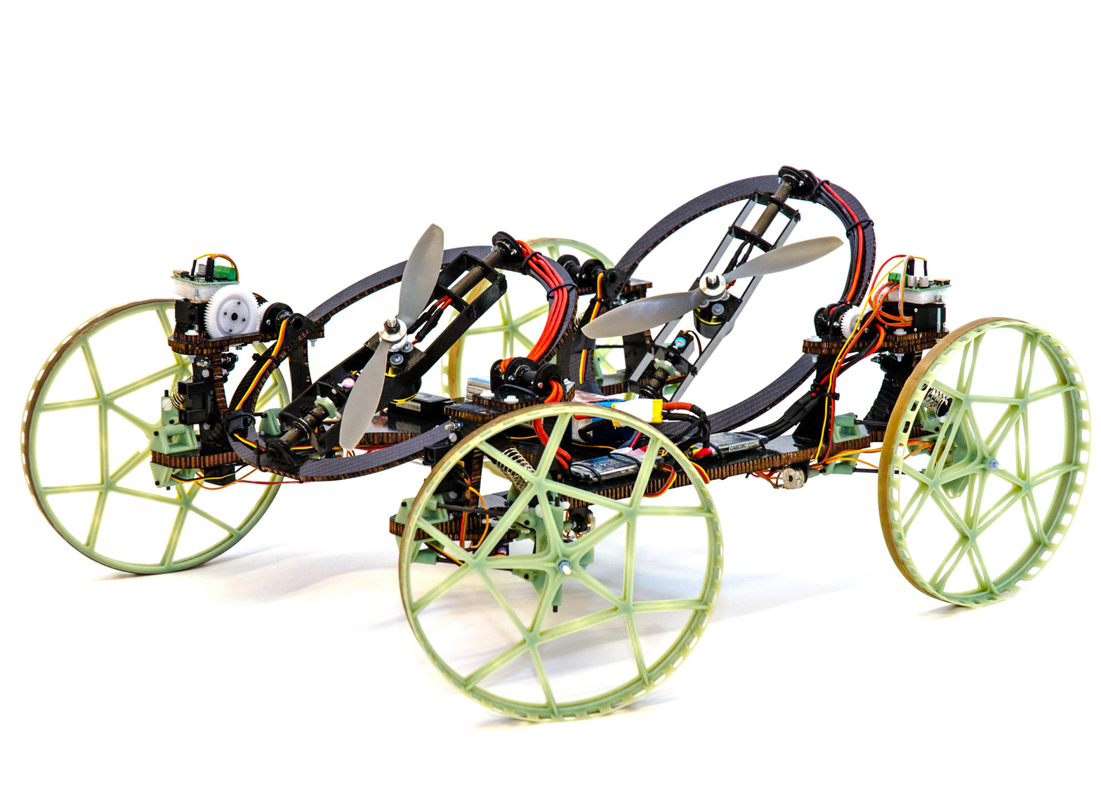 """wall climbing robot """"the robot is able to move on a wall quickly and with agility"""" the robot, which has a built in control system, is designed to be maneuvered much like a toy remote-controlled car."""