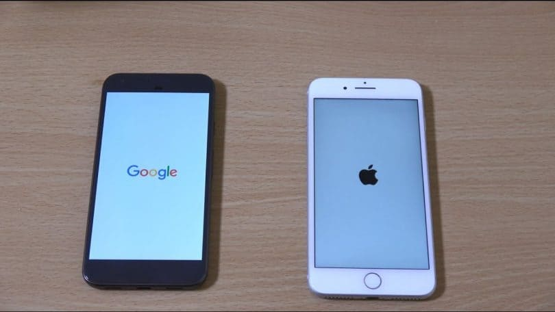 Google Pixel vs. Apple iPhone 7 Plus