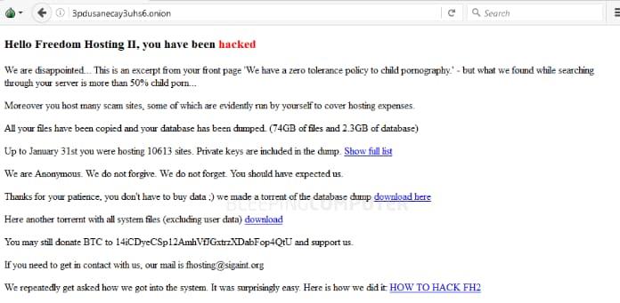 Dark Web Hacking