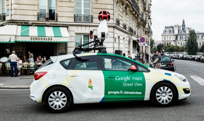 Google Street View Can Now Extract Street Names and ... on google maps engine, google maps history, google maps weather, google street view car location, google maps caught on camera, google maps miles, google maps vehicle with camera,