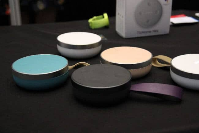 The price for the TicHome Mini should be less than 100 Euro. The unit will be available in four or five colors from October.