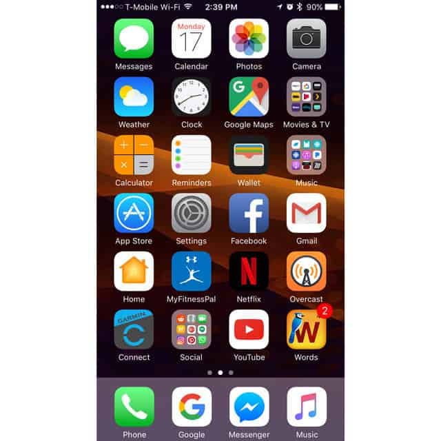 customize your iPhone Home Screen without Jailbreaking
