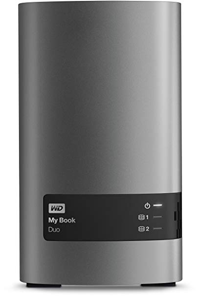 WD My Book Duo 4TB external hard drive