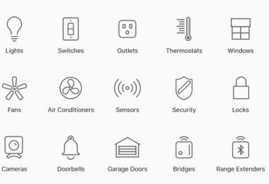 Apple Homekit Devices