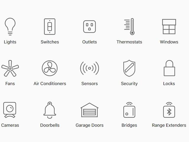 Apple Homekit Devices