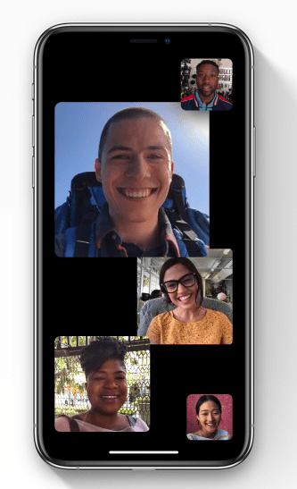 Face time AR features in IOS 12