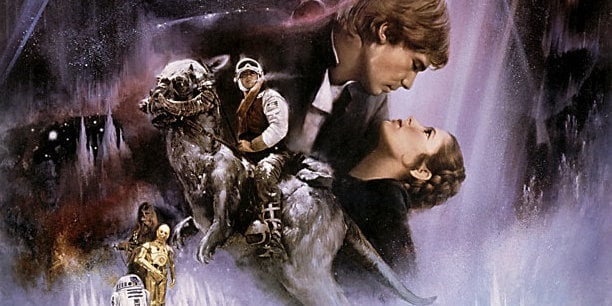 Star Wars movies in order The Empire Strikes Back