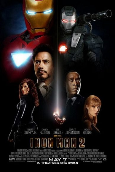 Marvel Movies in Order- IRON MAN 2