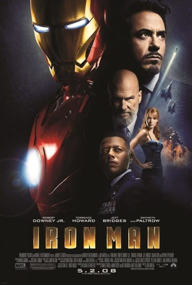 Marvel Movies in Order- IRON MAN