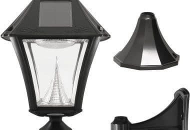 Gama Sonic Baytown Gs-105FPW-BW Best Solar Path Lights