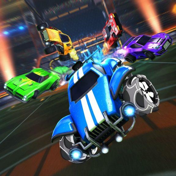 PS4 Split Screen Games Rocket League