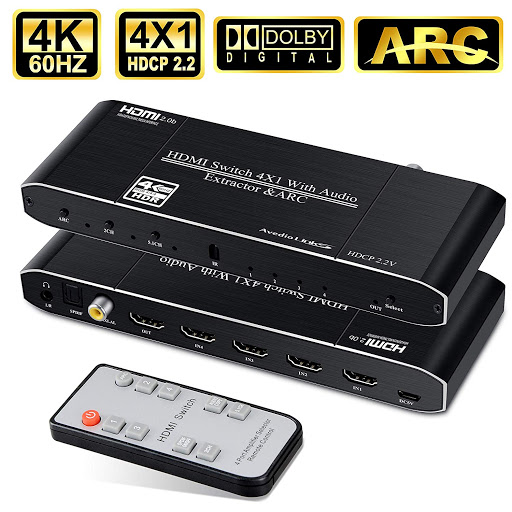 Best HDMI Switch avedio links 4K