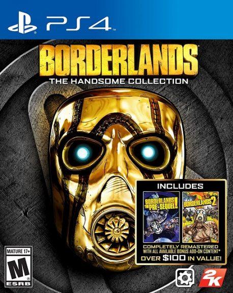 PS4 Split Screen Games borderlands