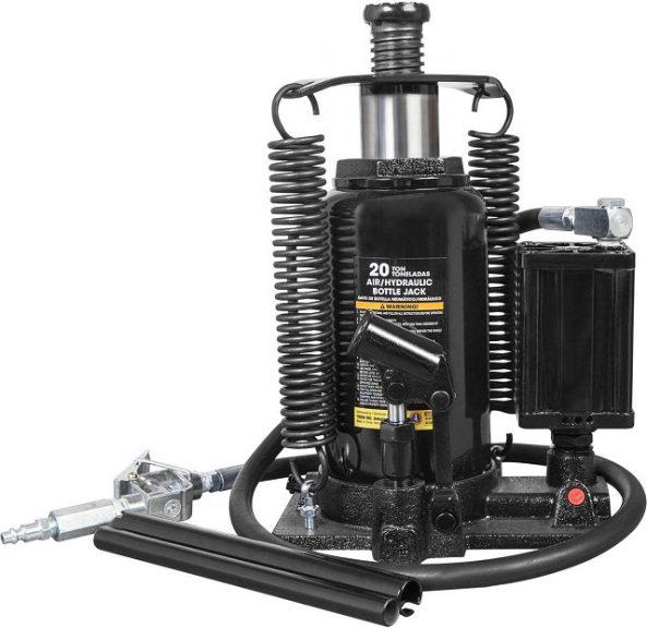 Torin ATA92006B Pneumatic Air Hydraulic Bottle Jack with Manual Hand Pump car jack