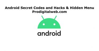Android Secret Codes and Hacks & Hidden Menu