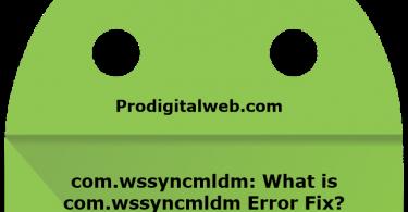What is com.wssyncmldm?