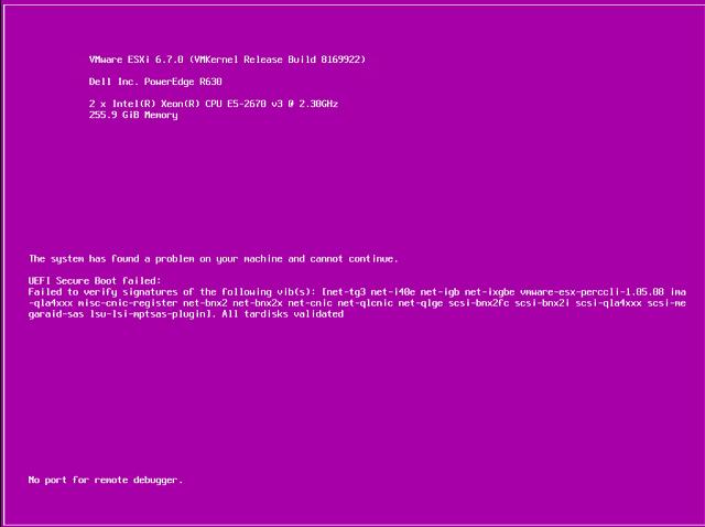 Purple Screen of Death | PSoD Trouble Shooting