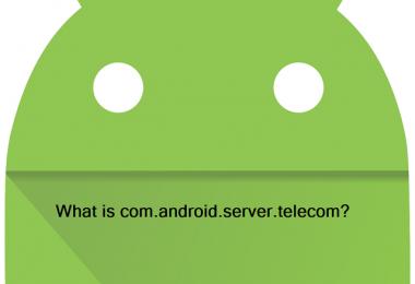 What is com.android.server.telecom?