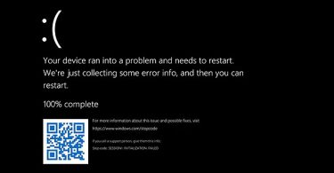 Black Screen of Death BSoD– How To Fix?